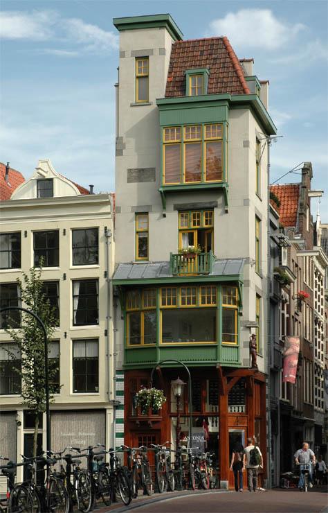 Monumenten kleuren amsterdam
