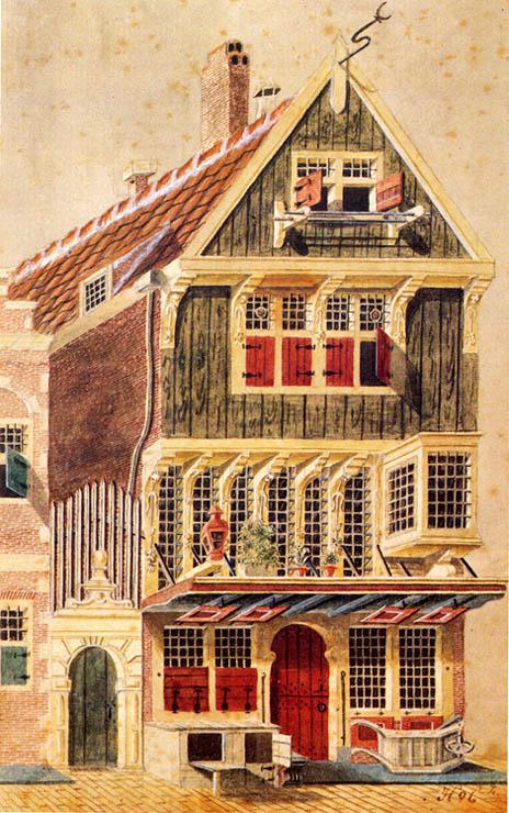 Oog voor detail pothuizen vereniging vrienden van de amsterdamse binnenstad - Huizen van de wereldbank ...