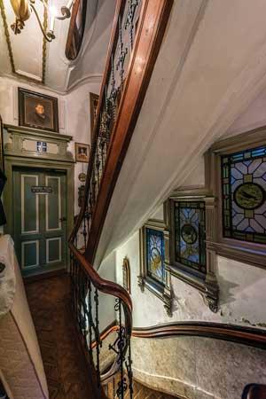 Keizersgracht 439 een onbekende dubbelverbouwing door vader en zoon salm vereniging vrienden - Vervoeren van een trappenhuis ...